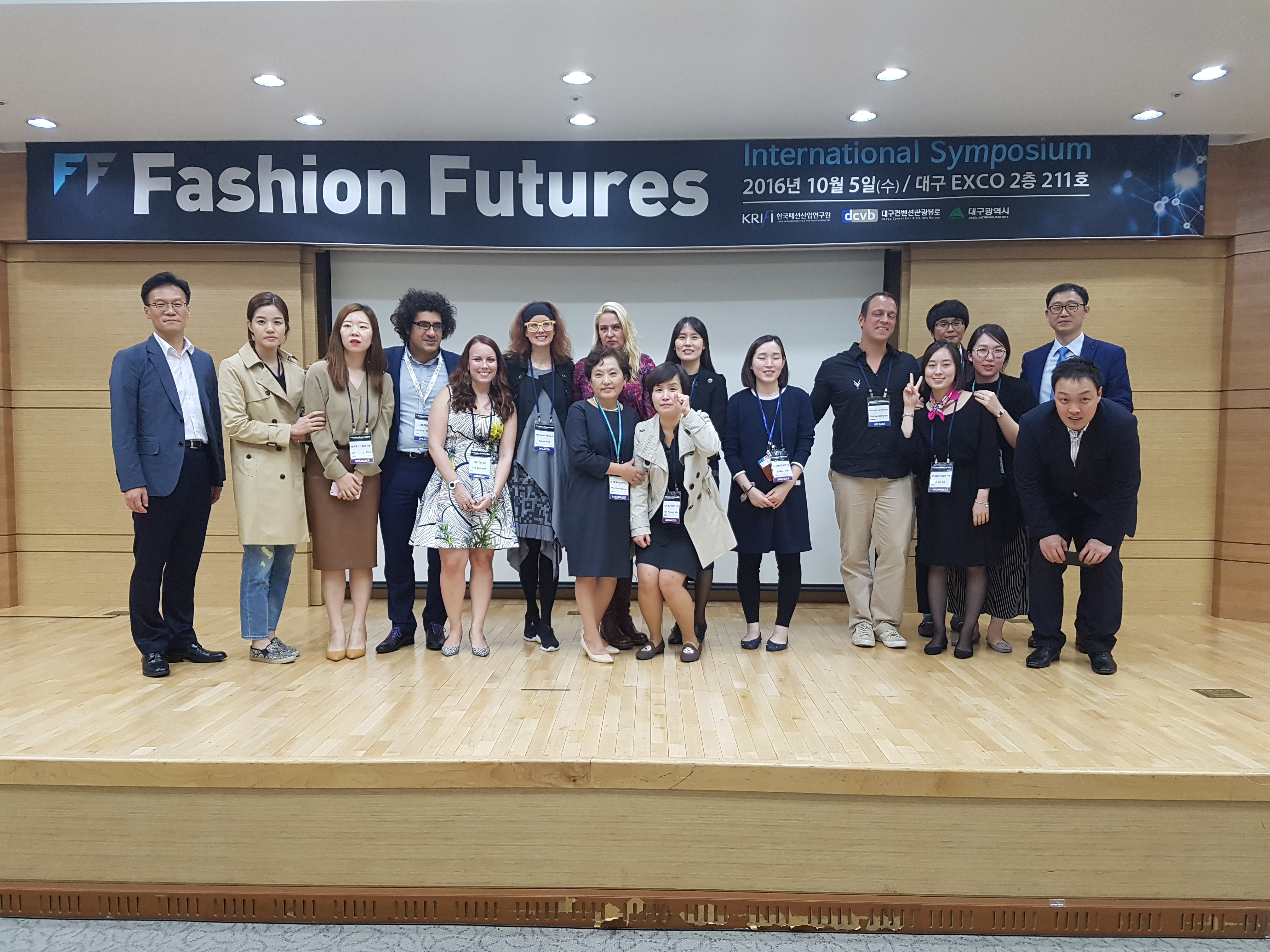 2016 Fashion Futures_Oranizers with Speakers